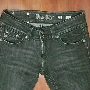 Miss Me Faded Black Size 27 Skinny jeans